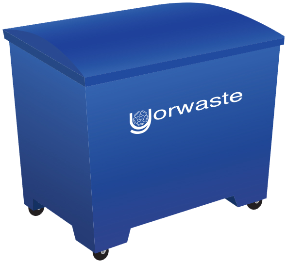 1100 yorwaste litre container