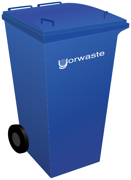 240 litre yorwaste container