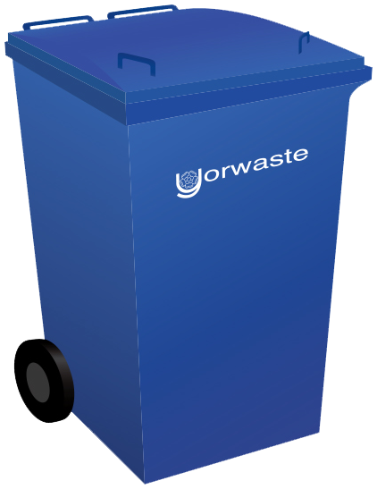 360 litre yorwaste container