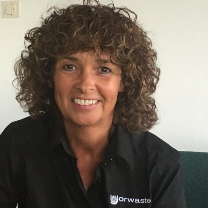 Alison Anderson Assistant to the Directors for Yorwaste commerical waste management