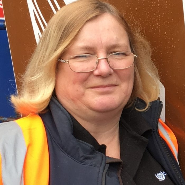 Debbie Swindells HWRC Senior Supervisor