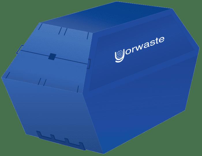 14 cubic yards yorwaste skip