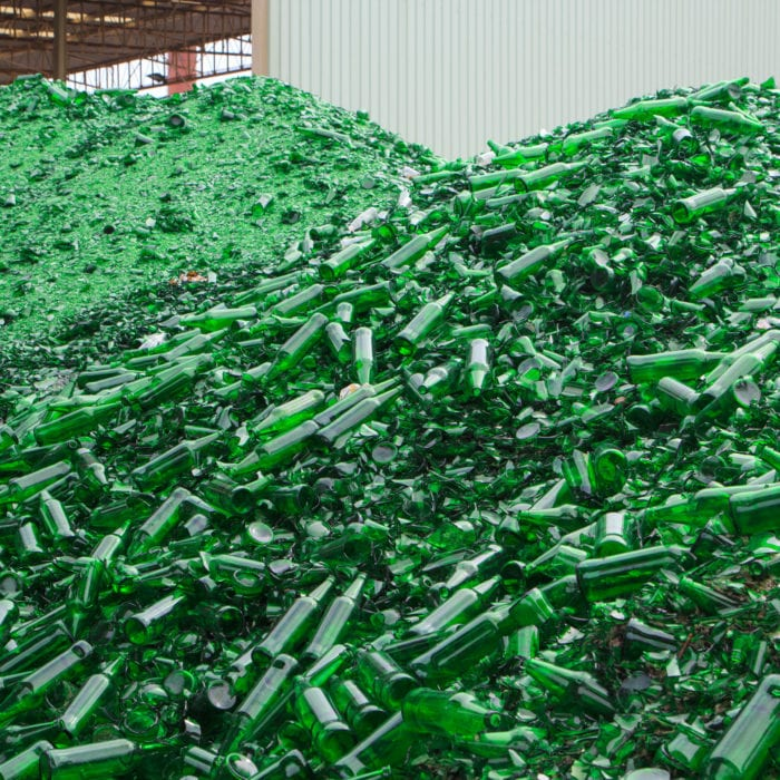 Glass Recycling management north yorkshire