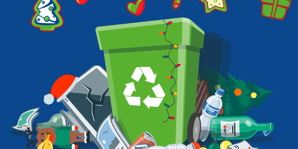 How to reduce waste at Christmas graphic