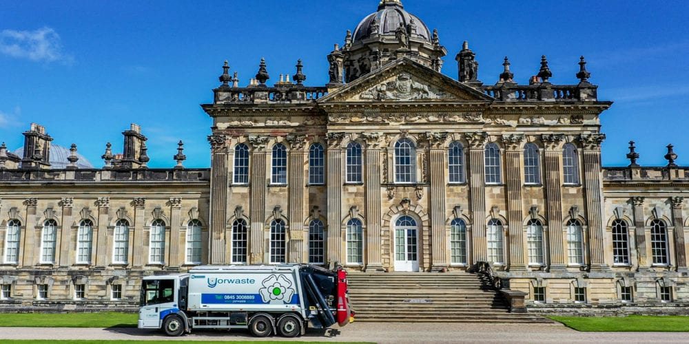 Castle Howard, York, where we provide accredited specialist waste management